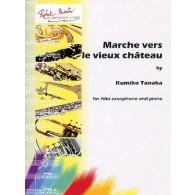 TANAKA K. MARCHE VERS LE VIEUX CHATEAU SAXO MIB