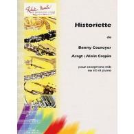 COUROYER G. HISTORIETTE SAXO