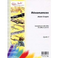 CREPIN A. RESONANCES SAXO MIB OU SIB
