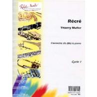 MULLER T. RECRE CLARINETTE SIB