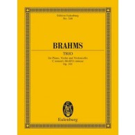 BRAHMS J. TRIO OP 101 CONDUCTEUR