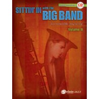 SITTIN'IN WITH THE BIG BAND VOL 2 SAXO SIB