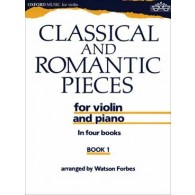 CLASSICAL AND ROMANTIC PIECES VOL 1 VIOLON