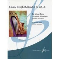 ROUGET DE L'ISLE C.J. LA MARSEILLAISE SAXOS