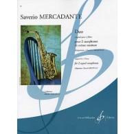 MERCADANTE S. DUO POUR 2 SAXOS