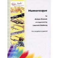 DVORAK A. HUMORESQUE ENSEMBLE SAXOPHONES