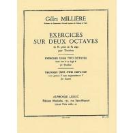 MILLIERE G. EXERCICES SUR DEUX OCTAVES TROMBONE