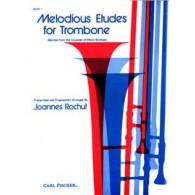 ROCHUT J. MELODIOUS ETUDES VOL 1 TROMBONE