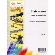 BROUQUIERES J. CLAIR ET NET CLARINETTE