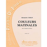 CARLIN A. COULEURS MATINALES TROMBONE