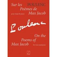 POULENC F. SUR LE POEMES DE MAX JACOB CHANT