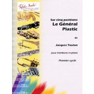 TOULON J. LE GENERAL PLASTIC TROMBONE