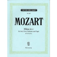 MOZART W.A. MISSA IN C MINOR KV 427 CHANT