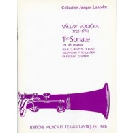 VODICKA V. 1RE SONATE CLARINETTE