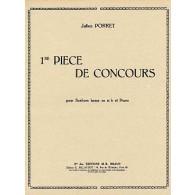 PORRET J. 1RE PIECE DE CONCOURS EUPHONIUM