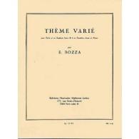 BOZZA E. THEME VARIE TUBA