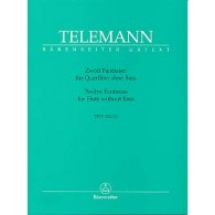 TELEMANN G.P. 12 FANTAISIES FLUTE