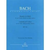 BACH J.S. CONCERTO BWV 1043 2 VIOLONS