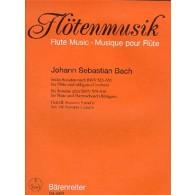 BACH J.S. 6 SONATES BWV 525-530 VOL 3 FLUTE