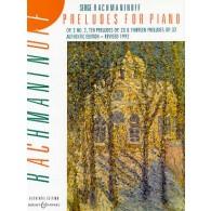 RACHMANINOV S. PRELUDES PIANO
