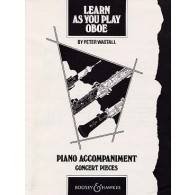 WASTALL P. LEARN AS YOU PLAY OBOE PIANO