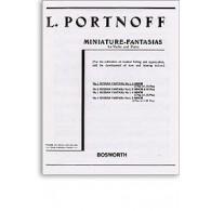 PORTNOFF L. FANTAISIE RUSSE N°1 VIOLON