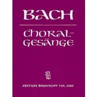 BACH J.S. CHORAL GESANGE
