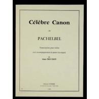 PACHELBEL J. CELEBRE CANON VIOLON