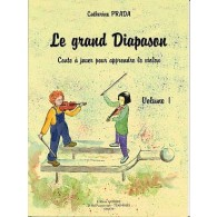 PRADA C. GRAND DIAPASON VOL 1 VIOLON