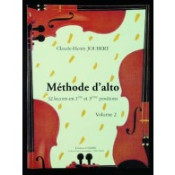 JOUBERT C.H. METHODE D'ALTO VOL 2