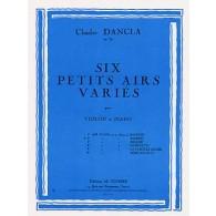 DANCLA C. PETIT AIR VARIE N°2 VIOLON