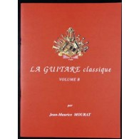 MOURAT J.M. LA GUITARE CLASSIQUE VOL B + CD