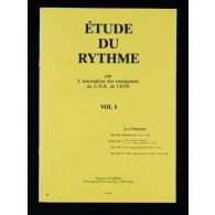 CNR DE LYON ETUDE DU RYTHME VOL 1