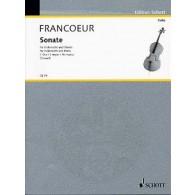 FRANCOEUR SONATE VIOLONCELLE