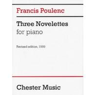 POULENC F. NOVELETTES PIANO