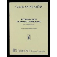 SAINT-SAENS C. INTRODUCTION RONDO CAPRICCIOSO OP 28 VIOLON PIANO