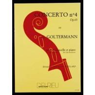 GOLTERMANN G. CONCERTO N°4 SOL MAJEUR VIOLONCELLE