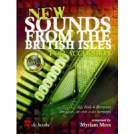 MEES M. NEW SOUNDS FROM THE BRITISH ISLES ACCORDEON