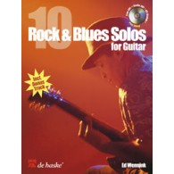 WENNINK E. 10 ROCK & BLUES SOLOS GUITARE TAB