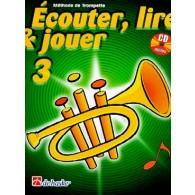 ECOUTER LIRE JOUER VOL 3 TROMPETTE