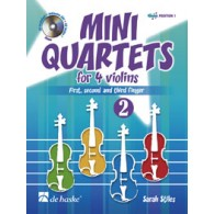 STILES S. MINI QUARTETS VOL 2 4 VIOLONS
