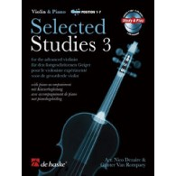 DEZAIRE/ROMPAEY SELECTED STUDIES 3 VIOLON