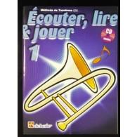 ECOUTER LIRE JOUER VOL 1 TROMBONE CLE DE FA
