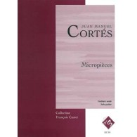 CORTES J.M. MICROPIECES GUITARE