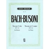 BACH J.S./BUSONI F. TOCCATA DO MAJEUR PIANO