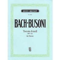 BACH J.S./BUSONI F. TOCCATA RE MINEUR PIANO