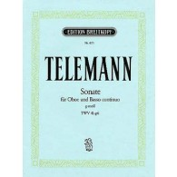 TELEMANN G.P. SONATE TWV 41: G6 HAUTBOIS
