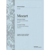 MOZART W.A. KONZERT-ARIEN VOL 2 SOPRANO