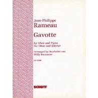 RAMEAU J.P. GAVOTTE HAUTBOIS