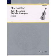 FEUILLARD L.R. EXERCICES JOURNALIERS VIOLONCELLE